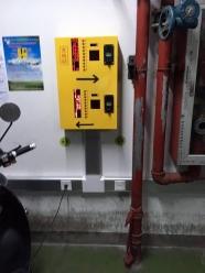 三江品牌20路充电站安装(南京议事园酒店)