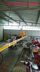 三江烟台客户周总充电站安装案例现场
